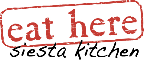 Eat Here Siesta Kitchen logo