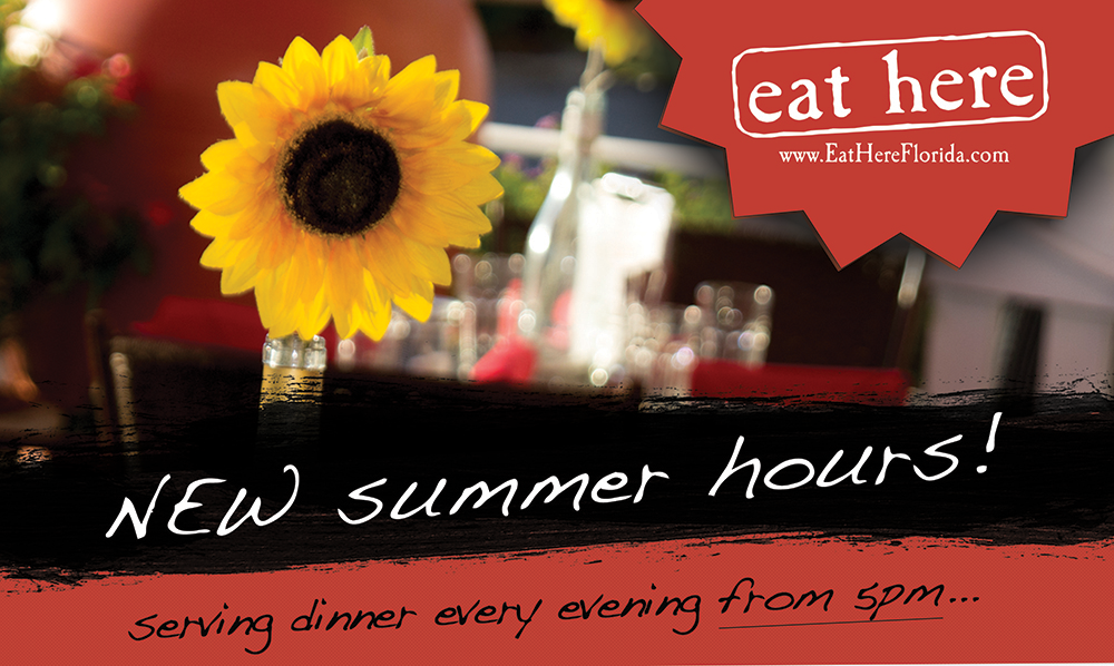 Summer Hours | Eat Here Sarasota